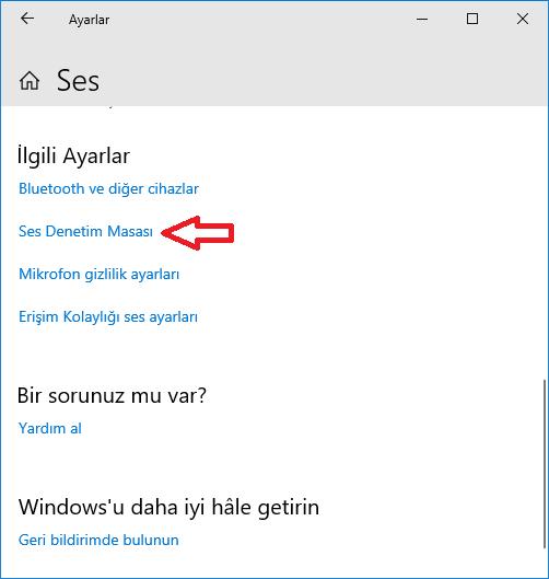 Windows'da ses seviyesini arttırmanın yolları: www.ceofix.com