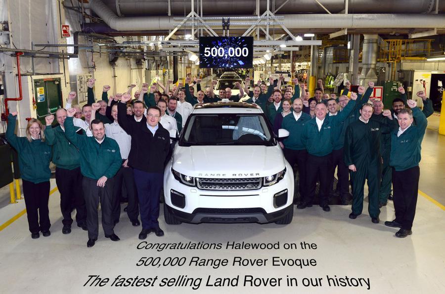 Một thành tích vô cùng ấn tượng của đội ngũ Land Rover
