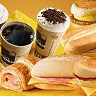 Um café da manhã no McDonald's