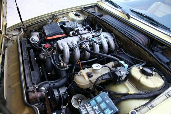 Rare Bmw 633csi Auto Restorationice
