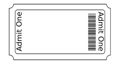 Blank Ticket Stub Template blank printable ticket templates – Theater Ticket Template