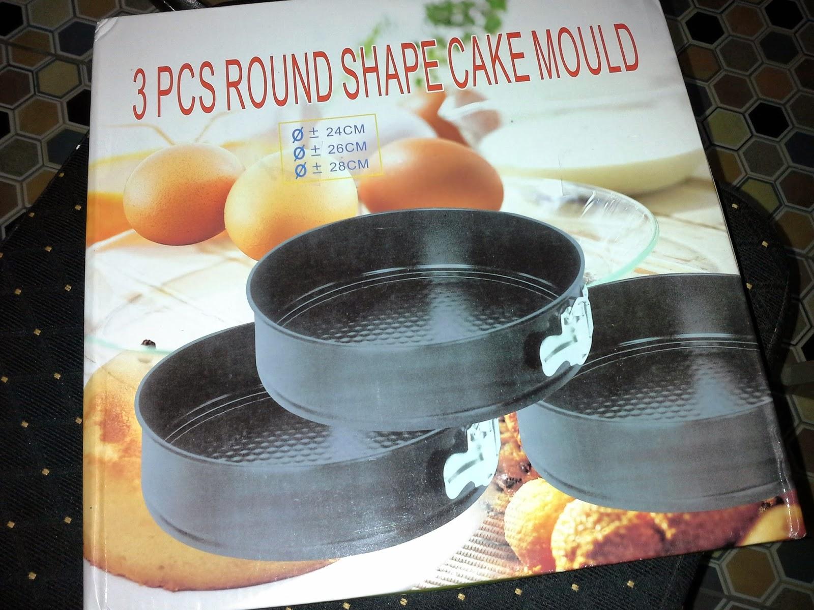 round shape cake mould