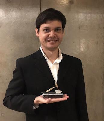 Pesquisador da CPRM recebe prêmio da Associação Brasileira de Geologia de Engenharia e Ambiental
