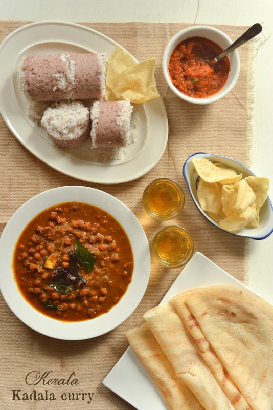 Kerala vegetarian recipes kurryleaves kadala curry with coconut forumfinder Gallery