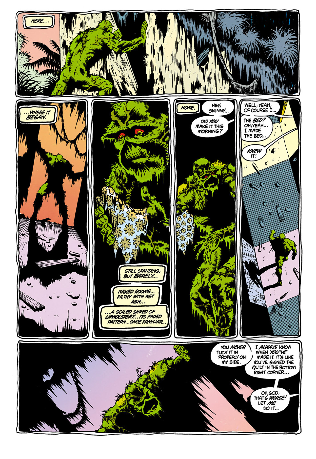 Swamp Thing (1982) Issue #28 #36 - English 11
