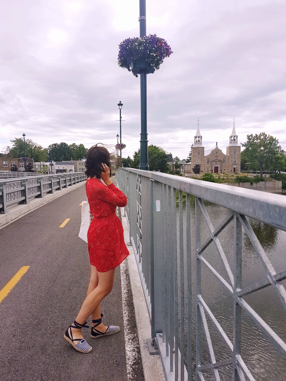 Dynamite Dress, Lifestyle, Summer, Street Style, Feminine, Dress, Sandals, Zara, Forever 21, Red Dress, Fashion, Beauty, Canadian Blogger, Montreal