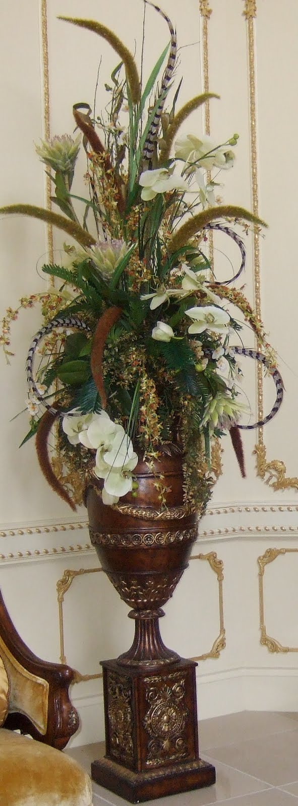Ana silk flowers images beautiful and luxury huge for Picture arrangements for large walls