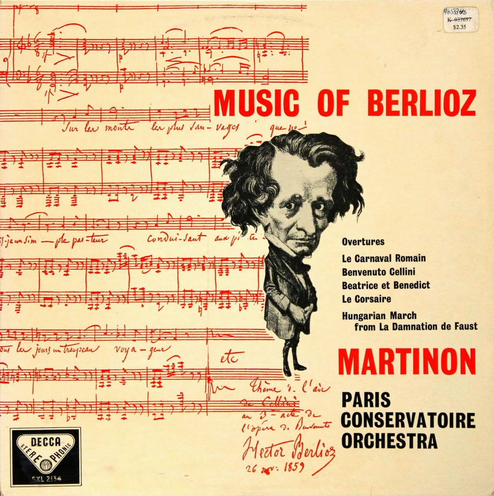 Decca SXL 2134: Music of Berlioz