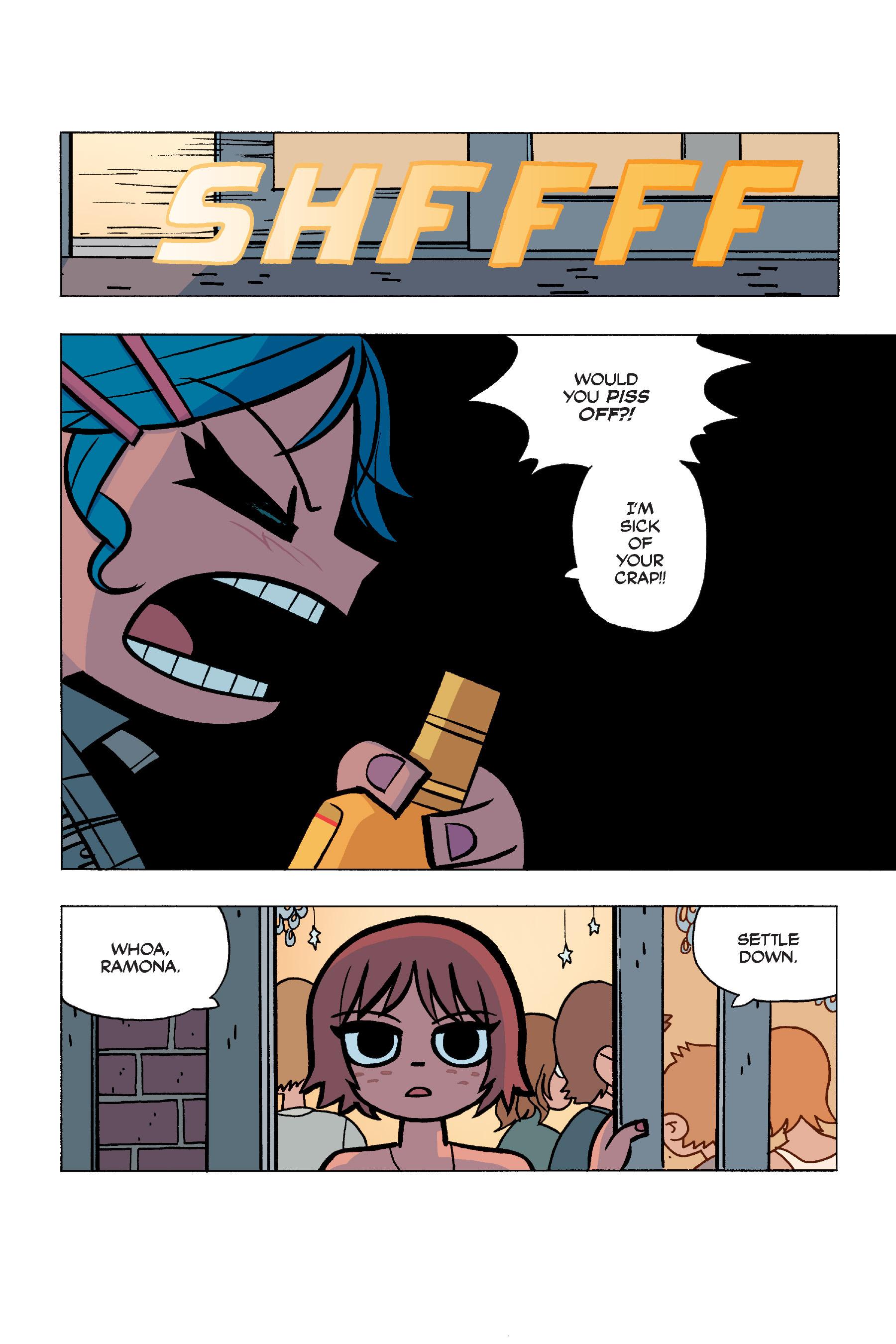 Read online Scott Pilgrim comic -  Issue #5 - 87
