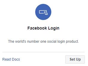 register app facebook developer