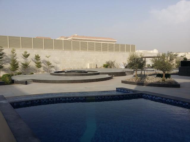swimming pool & landscaping