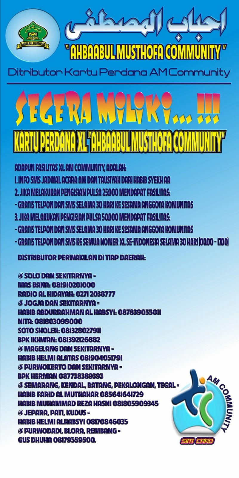 Miliki Segera Kartu Perdana Xl Habib Syech Bin Abdul Qodir Assegaf
