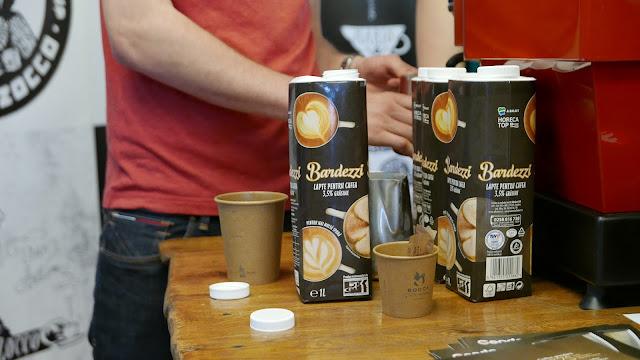 Bandezzi - lapte special pentru cappuccino