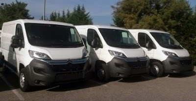 Flota de furgonetas de renting