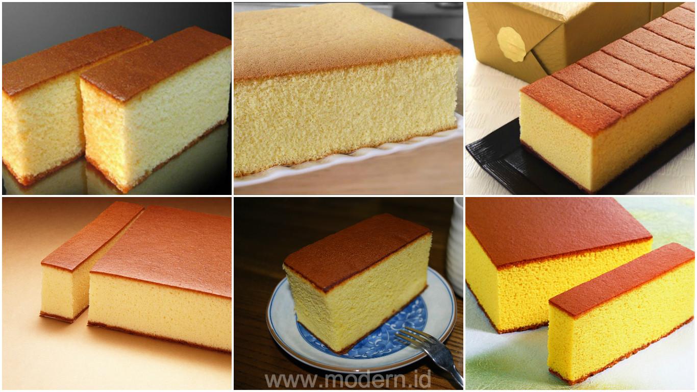 Resep Bolu Cheese Cake Jepang: Resep Castella Cake Khas Jepang. Tampil Mewah Dengan Bahan