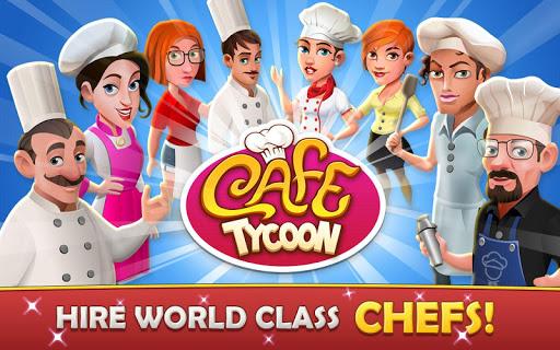 تحميل لعبة Cafe Tycoon – Cooking & Restaurant Simulation game v1.3 مهكرة للاندرويد وكاملة أموال لا تنتهي
