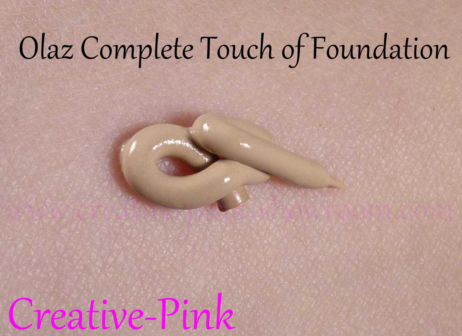 Showroom By Creative Pink Olaz Complete Touch Of Foundation