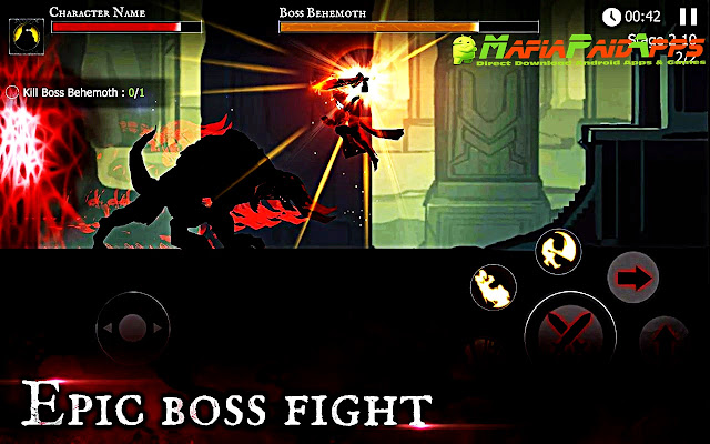 Shadow of Death: Dark Knight - Stickman Fighting Apk MafiaPaidApps
