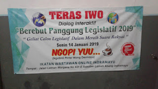 Calon Legislatif Ajak Masyarakat berpolitik cerdas