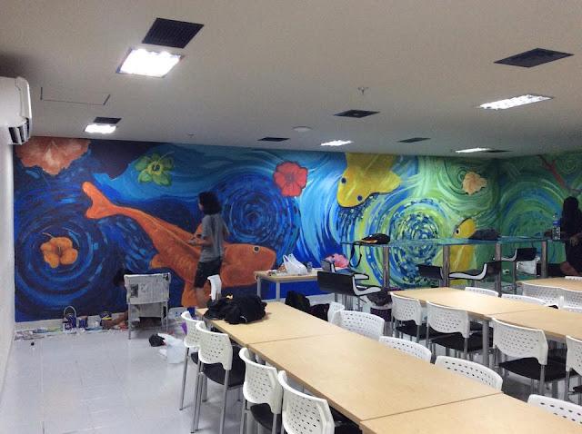 Jasa Mural, Wall Painting, Lukis Dinding