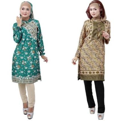 25 Desain Baju Batik Modern Casual Untuk Remaja Wanita