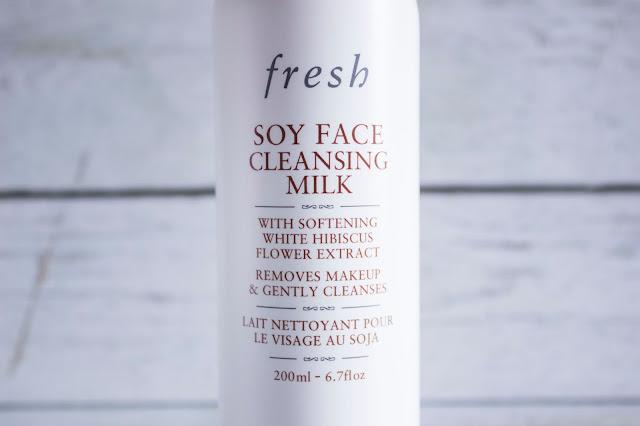 Lait nettoyant au soja Fresh
