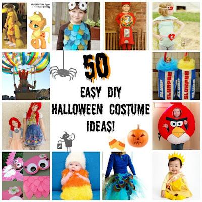 DIY costumes d'halloween pour enfants