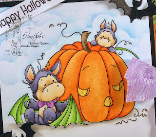 Heather's Hobbie Haven - Batty Boo Card Kit
