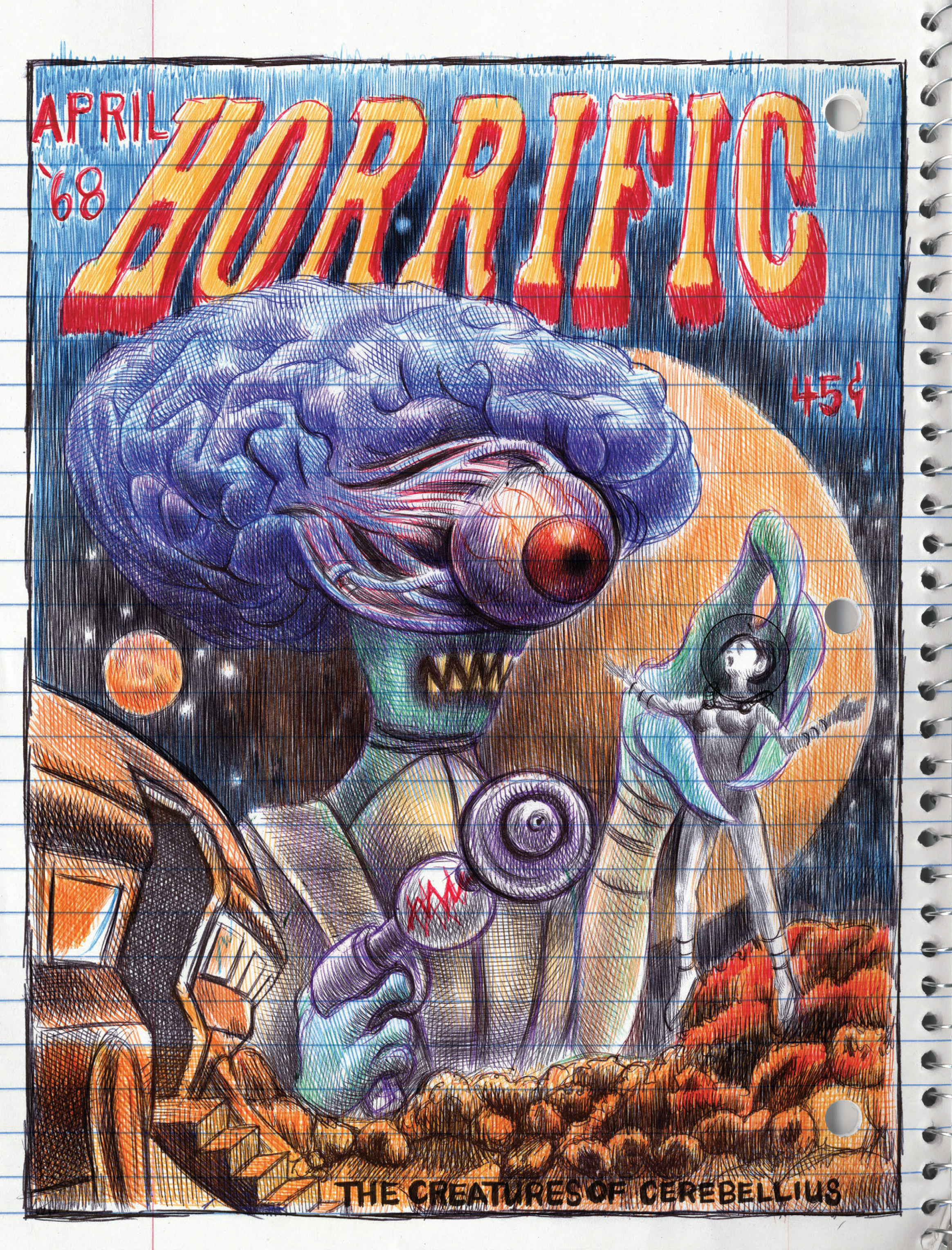 Read online My Favorite Thing is Monsters comic -  Issue #1.5 - 96