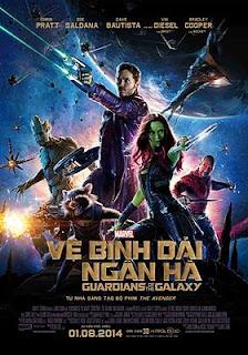 Vệ Binh Dải Ngân Hà 1 - Guardians Of The Galaxy Vol.1 (2014)