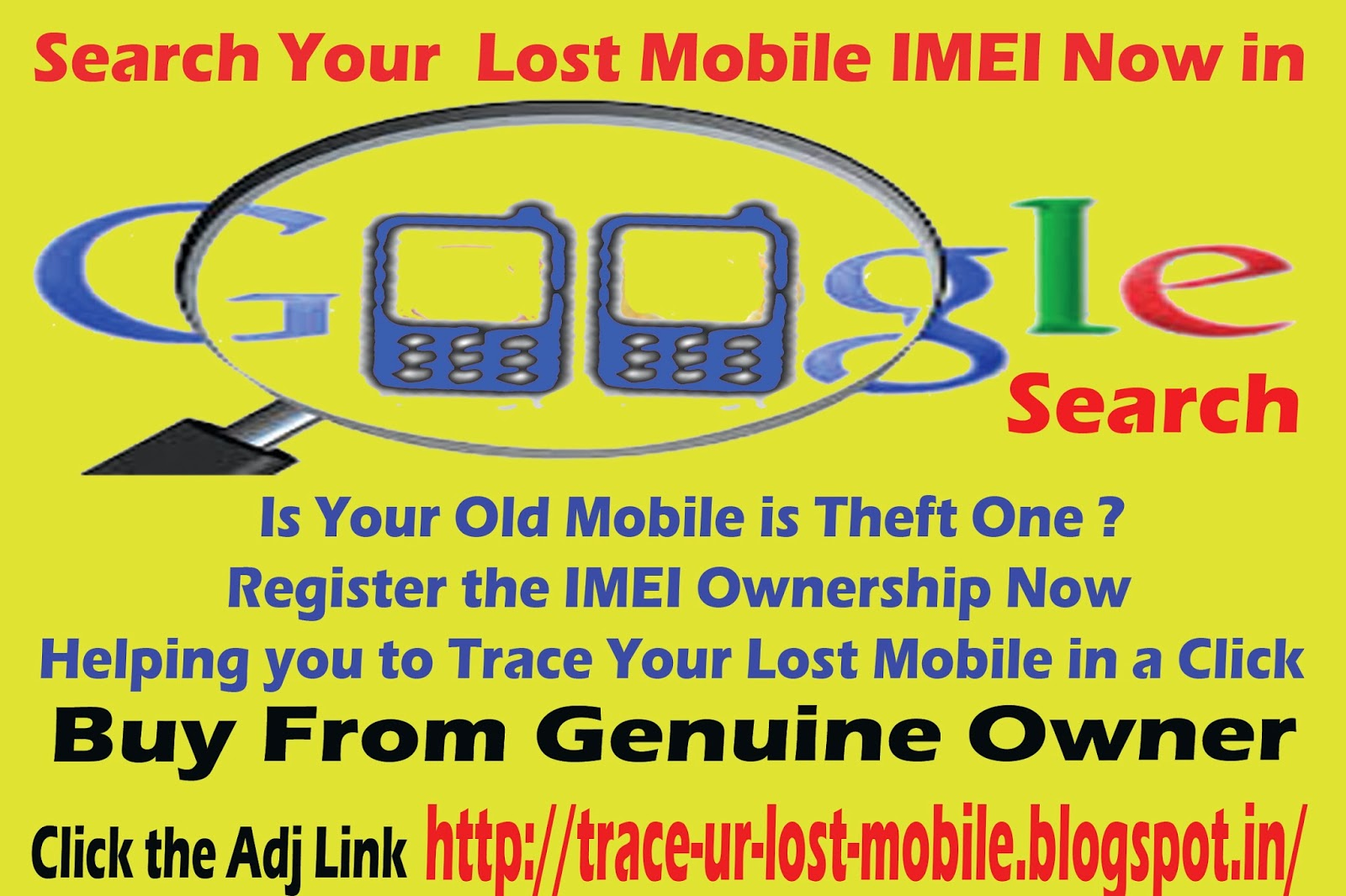 Track Your Lost Mobile: List of Lost Mobile IMEI Numbers