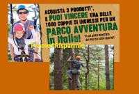Logo Vinci 1000 coppie di ingressi per un Parco Avventura in Italia