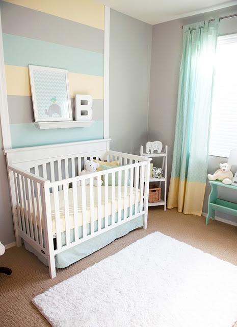 chambre de bébé pastel