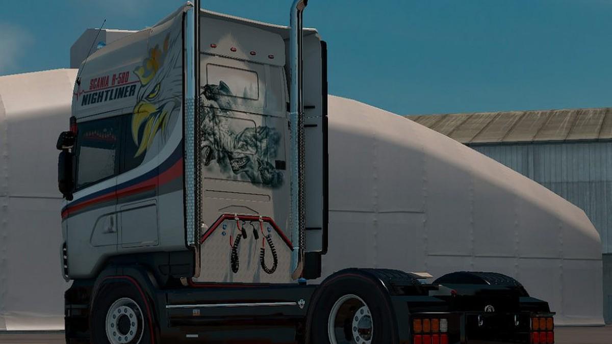 Scania RJL V8 580 Skin