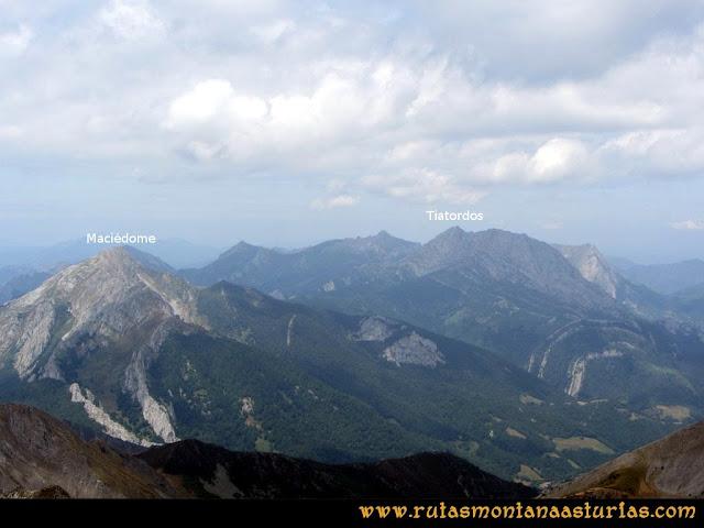 Ruta Ventaniella, Ten y Pileñes: Desde el Ten, Maciédome y Tiatordos