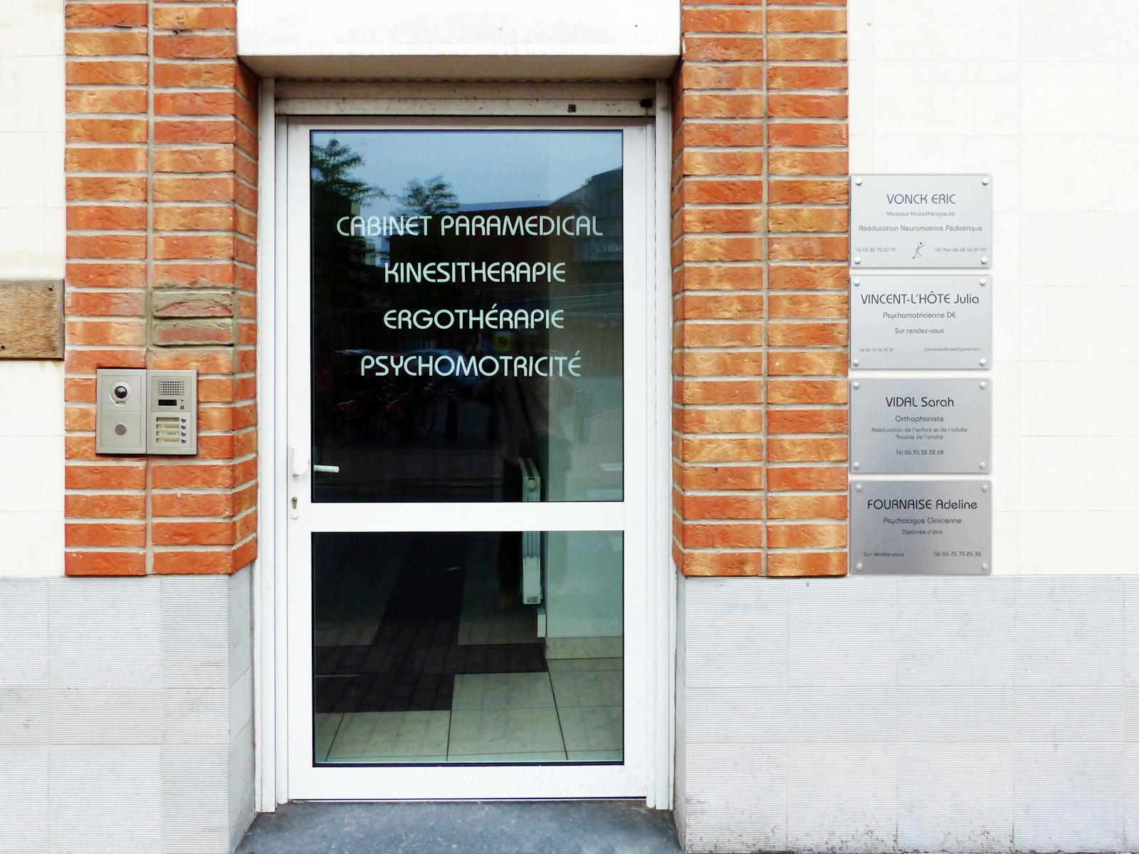 Cabinet Paramédical Tourcoing Centre - Rue des Anges.