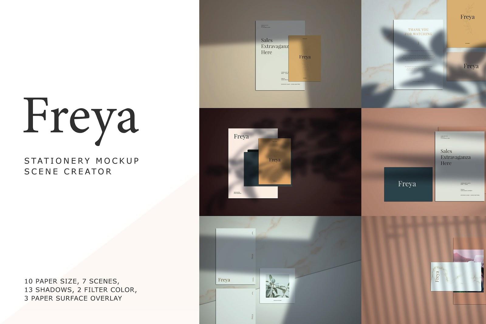 Freya Stationery Scene Creator