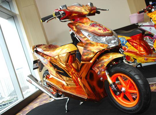 foto Modifikasi Honda Beat Terbaru