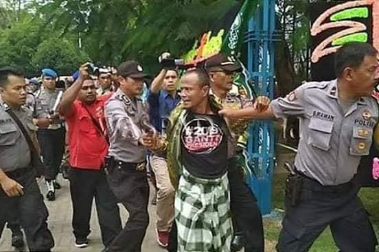 Bikin Ricuh Harlah NU, 8 Terduga Anggota FPI Diamankan