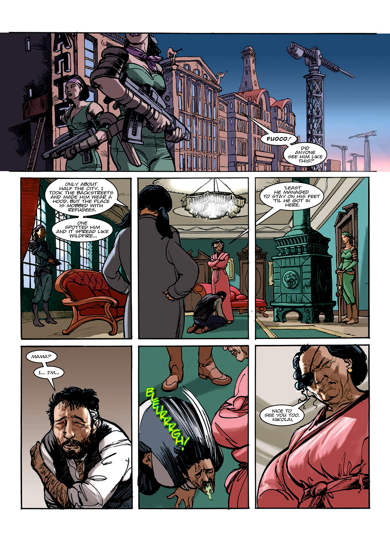 Read online Nikolai Dante comic -  Issue # TPB 10 - 143