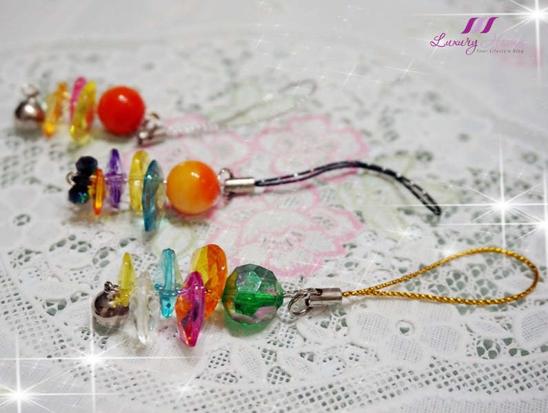 international giveaway win diy beaded mobile phone accessories
