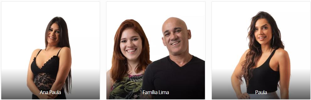 Vote no Paredão do BBB18 desta semana: ANA PAULA X FAMÍLIA LIMA X PAULA e veja a enquete de quem esta ganhando