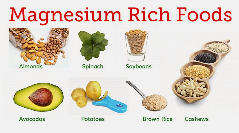 Foods You Can Get Magnesium From