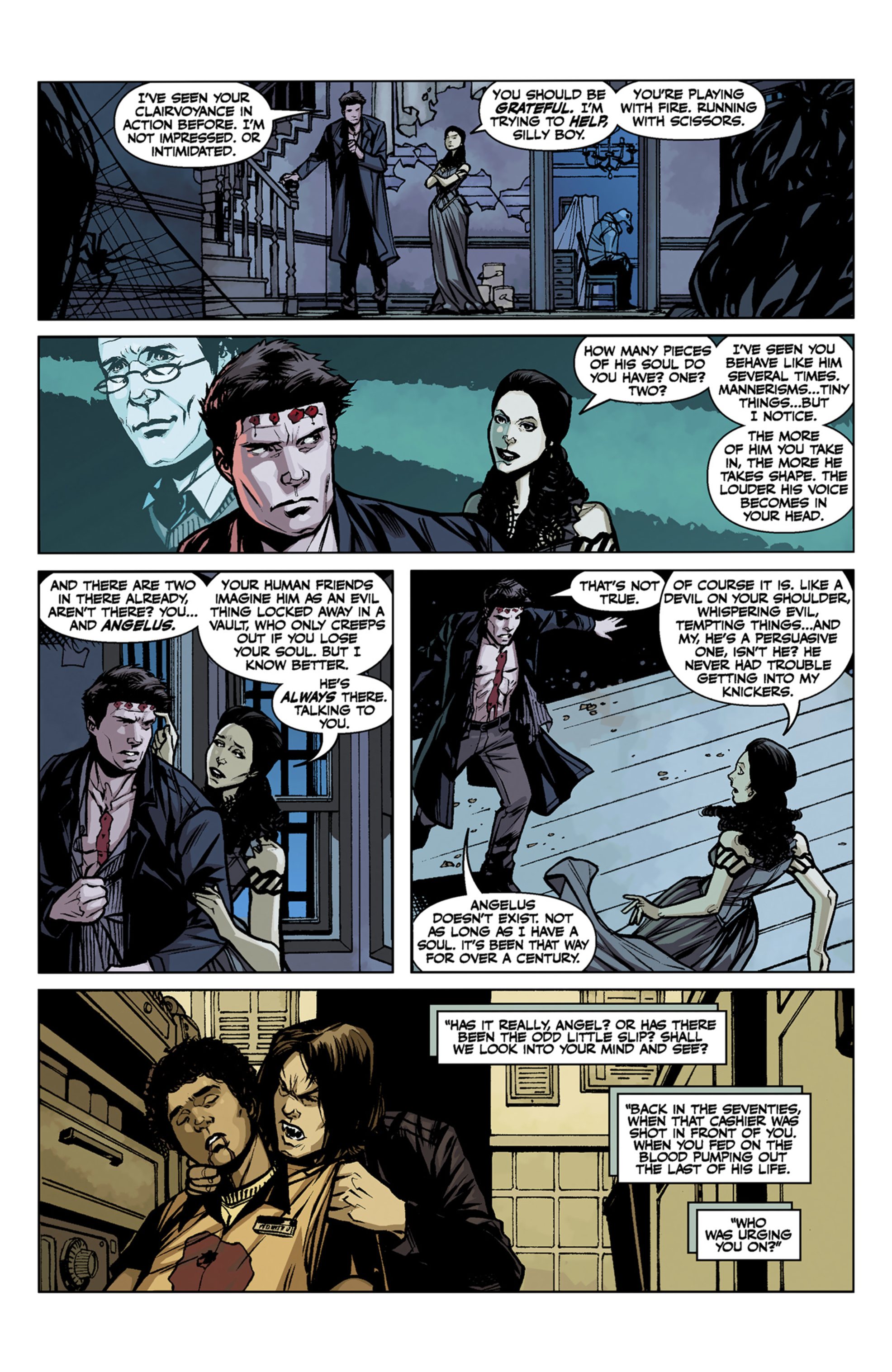 Read online Angel and Faith comic -  Issue #7 - 20