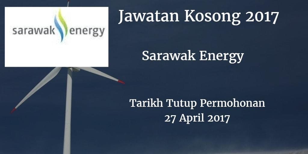 Jawatan Kosong Sarawak Energy 27 April 2017