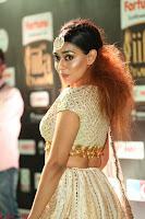 Apoorva Spicy Pics in Cream Deep Neck Choli Ghagra WOW at IIFA Utsavam Awards 2017 104.JPG