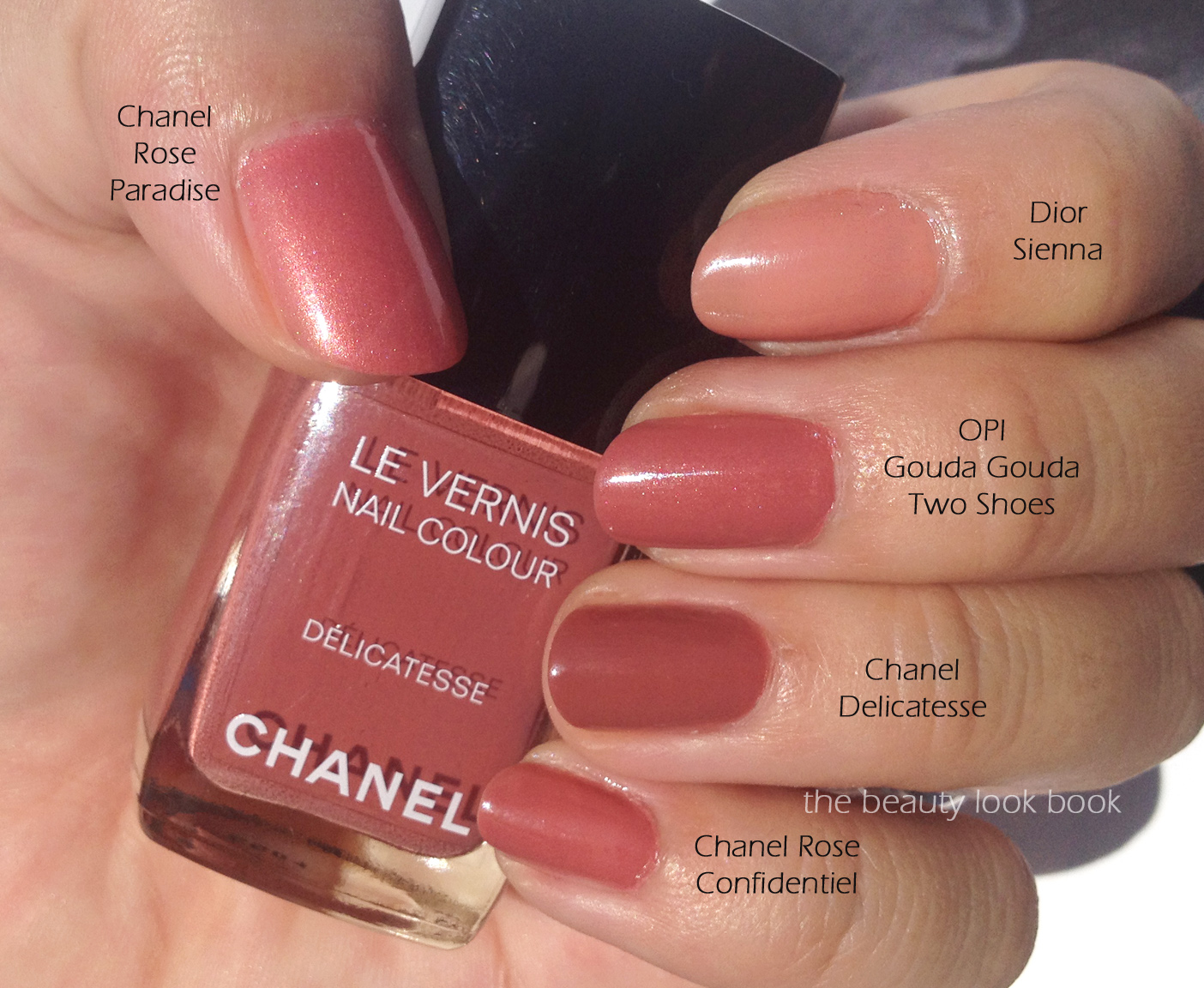 Chanel D 233 Licatesse Le Vernis The Beauty Look Book