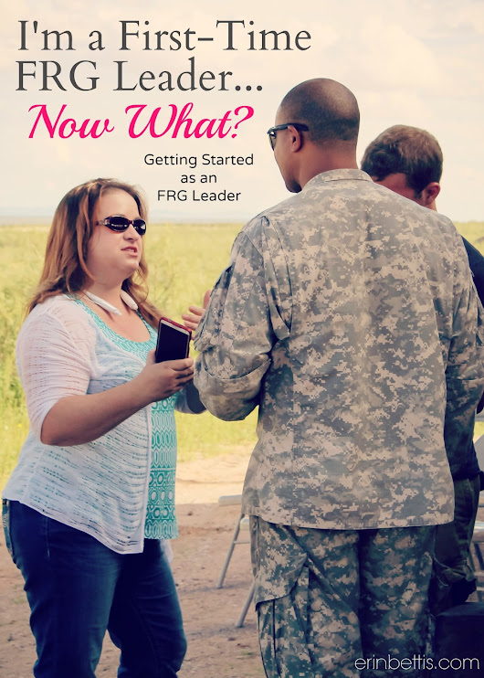 I'm an FRG Leader... Now what? Getting Started as an FRG Leader