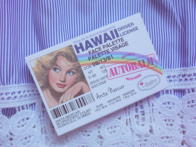 theBalm AutoBalm Hawaii Palette Recenzia