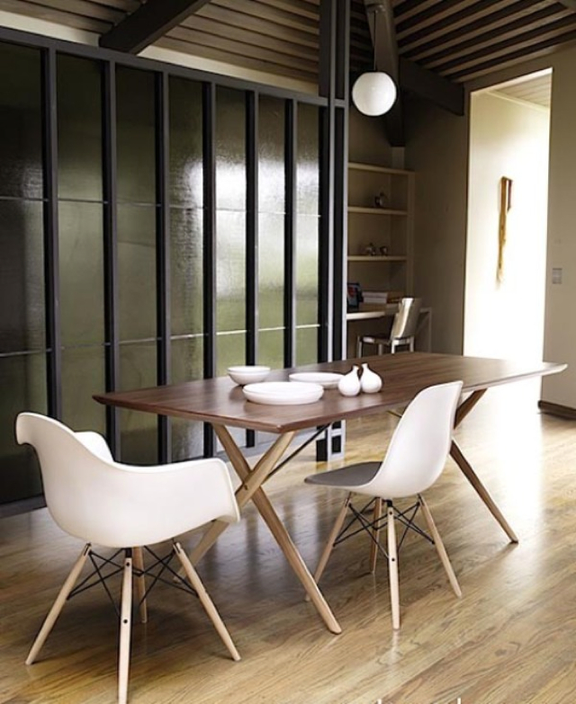 Forum tavolo da abbinare a sedie eames dsw for Sedie design eames